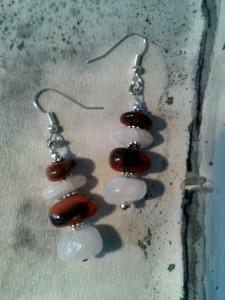 boucles quartz et jaspe marron 1